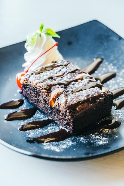 Ciasto czekoladowe ciasteczka Darmowe Zdjęcia