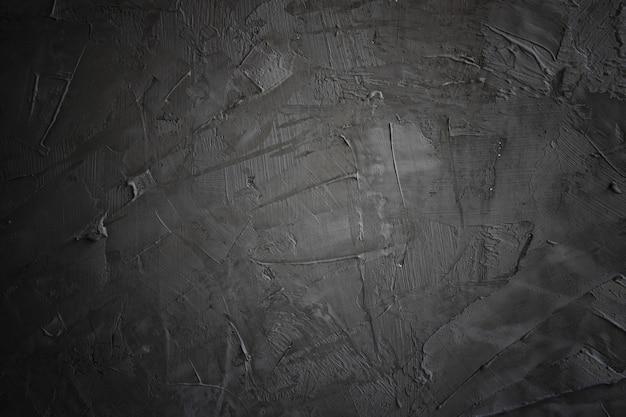 Ciemne I Czarne Grunge I Tekstura Cementu Lub Betonu Premium Zdjęcia