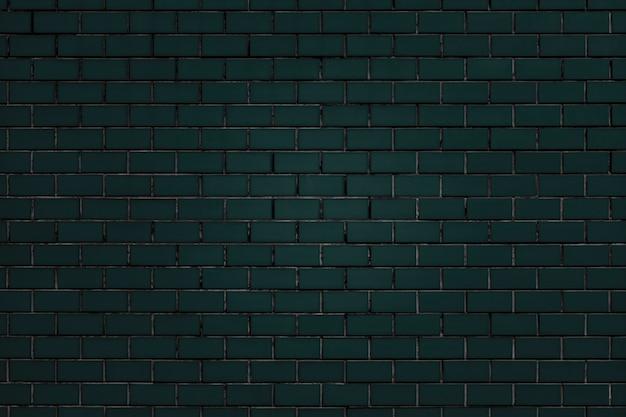 Ciemnozielony Mur Z Cegły Teksturowanej Darmowe Zdjęcia