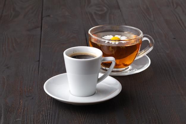 Co Wybrać Herbatę Lub Kawę Premium Zdjęcia