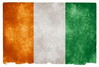Cote D Ivoire Grunge Flag Darmowe Zdjęcia