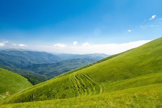 Cudowny Krajobraz Ukraińskich Karpat. Darmowe Zdjęcia