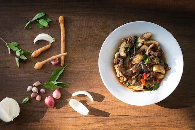 Curry Z Pikantną żabą Premium Zdjęcia