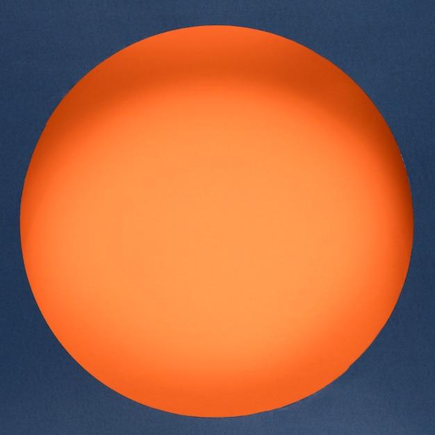 Cyber poniedziałek online pomarańczowe kółko Darmowe Zdjęcia