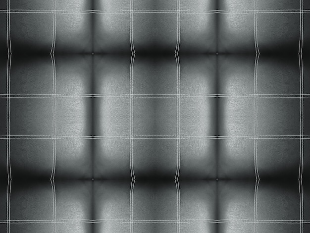 Czarna linia w paski kwadratowy wzór powierzchni kanapy Premium Zdjęcia