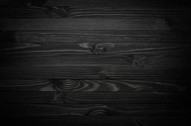 Czarna struktura drewna Premium Zdjęcia