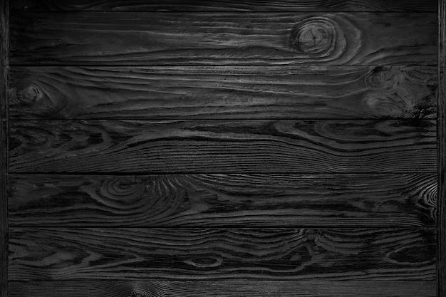 Czarne Drewniane Tekstury Tła Premium Zdjęcia