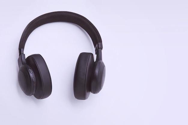 Czarne Słuchawki Premium Zdjęcia