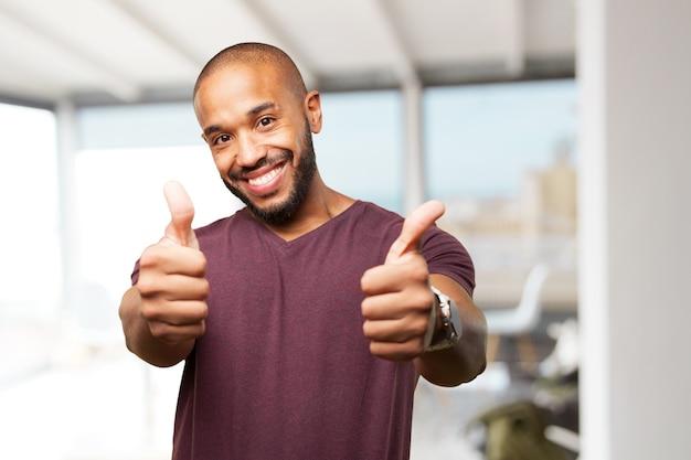 Czarny Biznesmen Szczęśliwy Wyraz Darmowe Zdjęcia