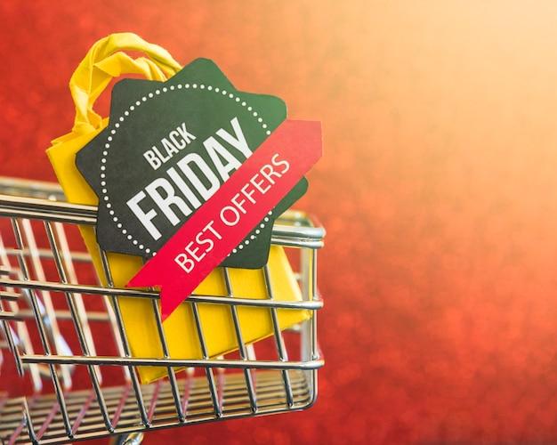 Czarny piątek najlepsze oferty napis Darmowe Zdjęcia