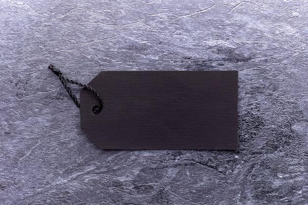 Czarny Piątek Tekst Na Czarnej Metce Na Czarnym Papierze Premium Zdjęcia