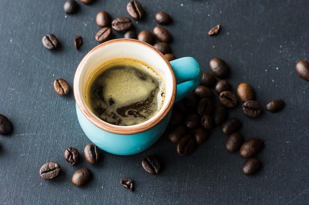 Czas na kawę rustykalną Premium Zdjęcia