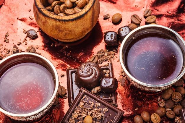 Czekolada Z Kawą Premium Zdjęcia