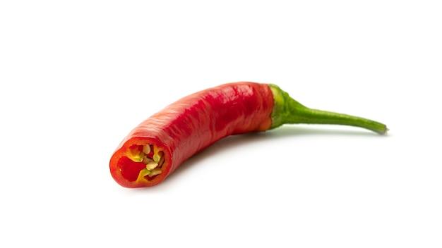 Czerwona Papryczka Chili. Premium Zdjęcia