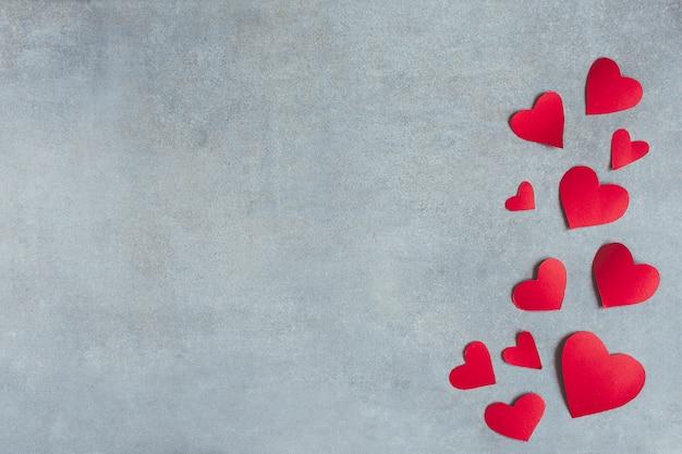 Czerwony papier symboli serca Darmowe Zdjęcia