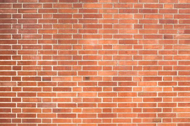 Czerwony ściana z cegieł tekstury tło Premium Zdjęcia