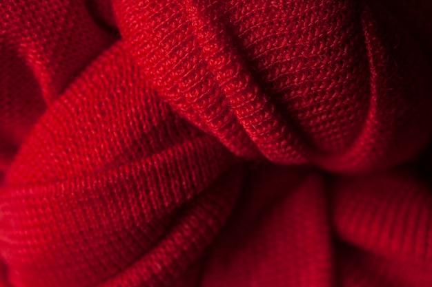 Czerwony sweter z wełny Darmowe Zdjęcia