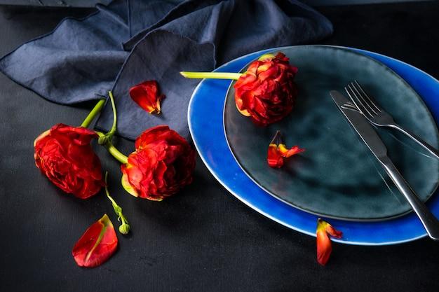 Czerwony tulipan księżniczki Premium Zdjęcia