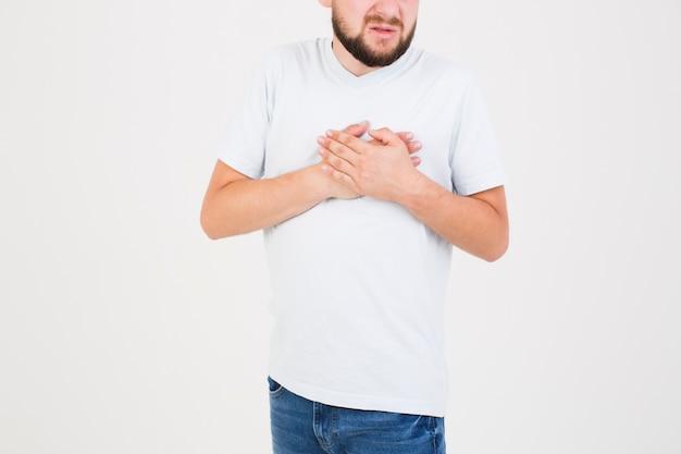 Człowiek Cierpi Na Ból Serca Darmowe Zdjęcia