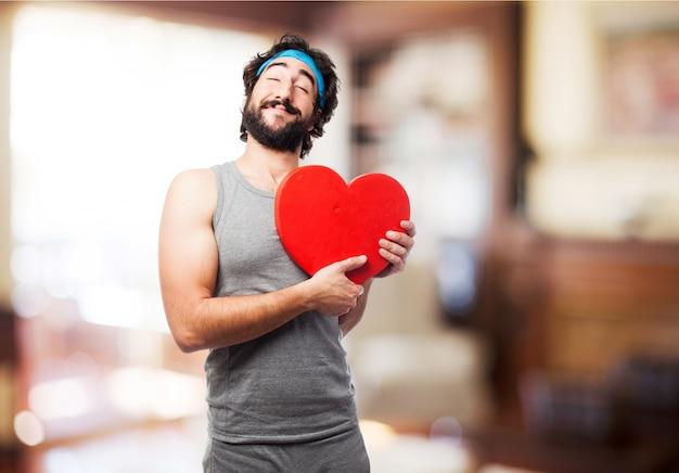 Człowiek Z Sercem Darmowe Zdjęcia