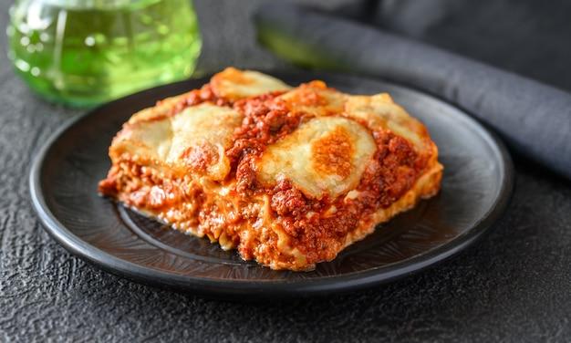 Danie Lasagne Premium Zdjęcia
