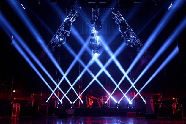 Darmowa Scena Ze światłami Premium Zdjęcia
