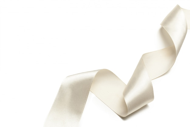 Dekoracja kokardki wstążką Premium Zdjęcia