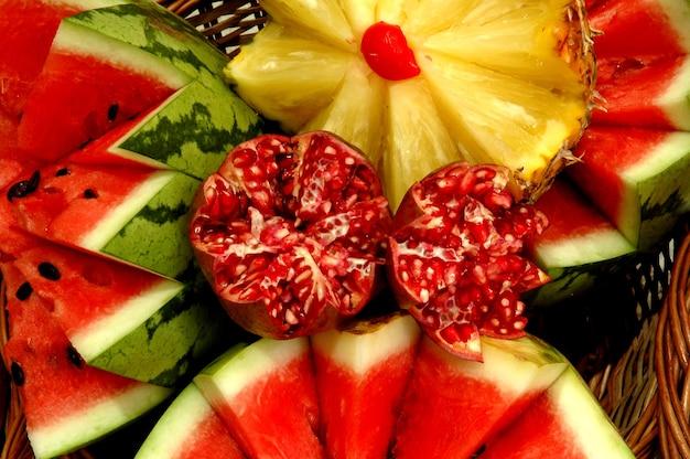 Dekoracje Owoców Zdjęcie Premium Pobieranie
