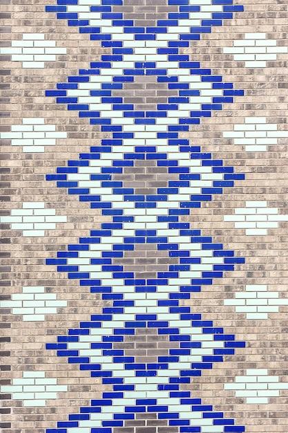 Dekoracyjne Kolorowe Cegły Ceramiczne Premium Zdjęcia