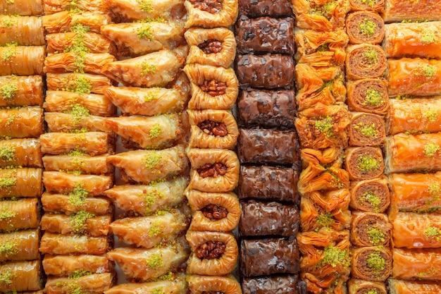 Deser Z Tureckiej Baklawy Premium Zdjęcia