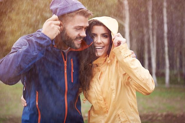 Deszczowa Jesień Nadeszła Tak Szybko Darmowe Zdjęcia
