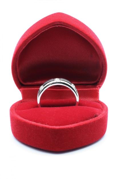 Diamentowa obrączka Premium Zdjęcia