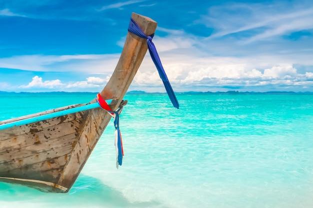 Długa łódź Premium Zdjęcia