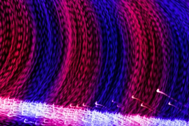 Długi ujawnienie krzywa błękitny i różowy lekki śladu tło Darmowe Zdjęcia