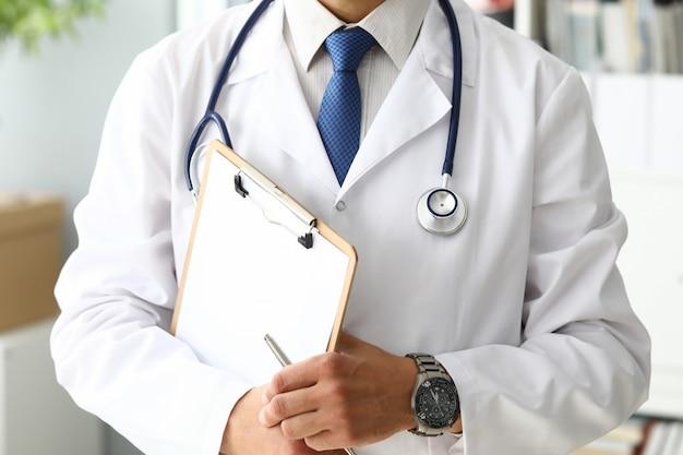 Doktorski Mienie Medyczny Schowek Premium Zdjęcia