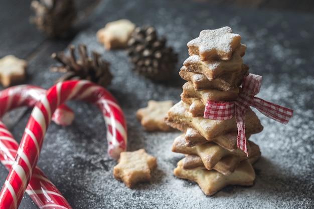 Domowe Ciasteczka świąteczne Premium Zdjęcia