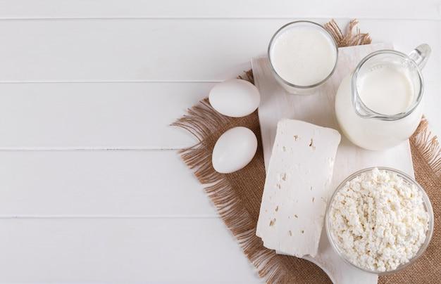 Domowe Produkty Mleczne Premium Zdjęcia