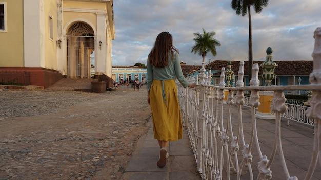 Domy Na Starym Mieście, Trynidad, Kuba Premium Zdjęcia