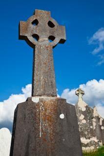 Donegal Celtic Cmentarz Kamienny Krzyż Darmowe Zdjęcia