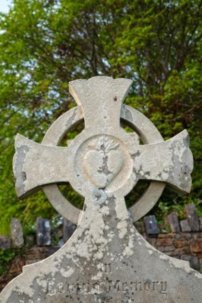 Donegal Cmentarz Celtic Cross Hdr Darmowe Zdjęcia