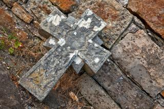 Donegal Cmentarz Kamienny Krzyż Hdr Celtic Darmowe Zdjęcia