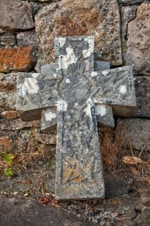 Donegal Cmentarz Kamienny Krzyż Hdr Cemetary Darmowe Zdjęcia