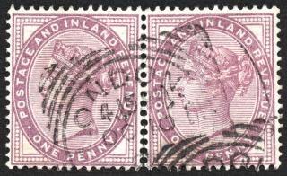 Double fiolet queen victoria znaczki Darmowe Zdjęcia