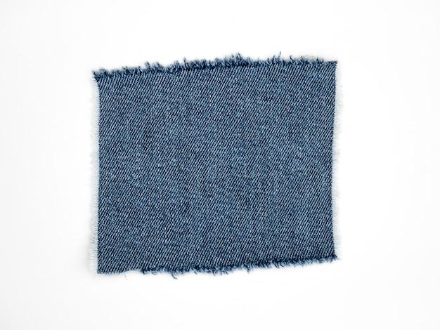 Drelichowa Dżinsowa Tekstylna Tekstura Odizolowywająca Premium Zdjęcia