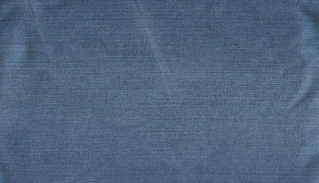 Drelichowe Tkaniny W Niebieskich Odcieniach Premium Zdjęcia