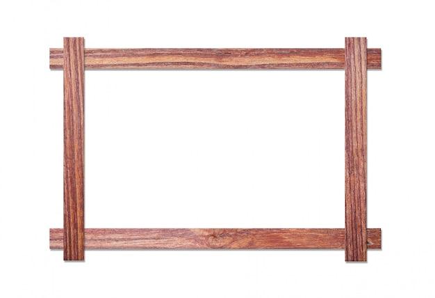 Drewniana rama Premium Zdjęcia