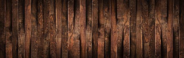 Drewniane Rustykalne Brązowe Deski Premium Zdjęcia