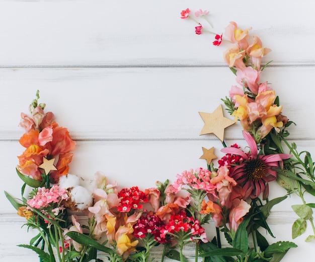 Drewniane Tekstury Wit Kwiaty Darmowe Zdjęcia