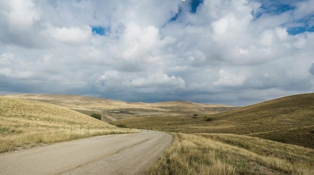 Droga Do Udabno W Stanie Georgia Darmowe Zdjęcia