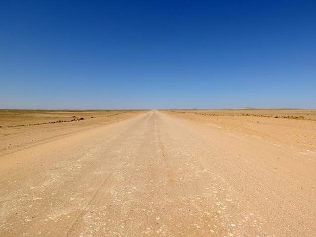 Droga Na Pustyni, Windhoek, Namibia Premium Zdjęcia